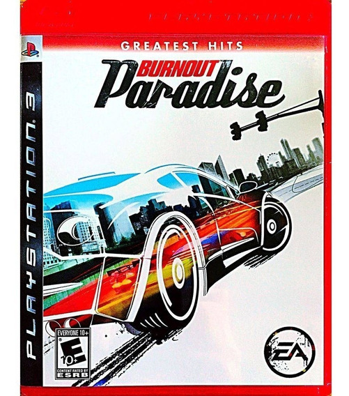 Jogo Ps3 Burnout Paradise Playstation3 Ps3 Mídias Originais
