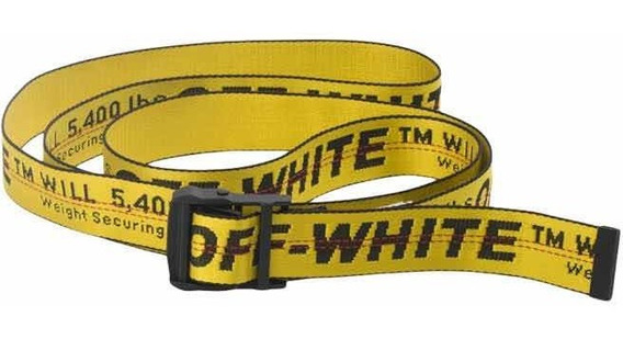 Cinturón Industrial Belt Off-white Original (2019)