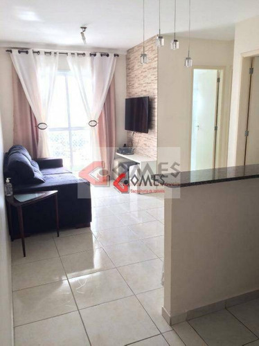 Apartamento Com 2 Dormitórios À Venda, 48 M² Por R$ 265.000,00 - Vila Gonçalves - São Bernardo Do Campo/sp - Ap2069