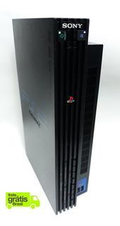 Playstation 2 Fat Tijolão + Controles + Jogos + Memory Card