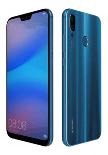 Huawei P20 Lite 32gb Azul - Inmaculado - Excelente