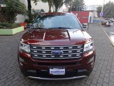 Ford Explorer 3.5 Xlt Piel Mt 2016 Autos Y Camionetas