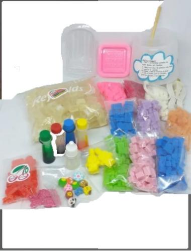 Kit Para Hacer Jabones En Casa Para Niños Divertido Colores
