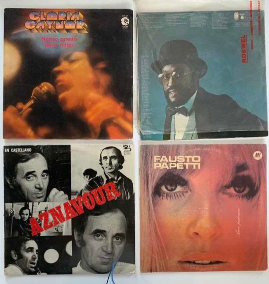 Set Discos Romanticos Y Populares 70/80/90 Inglés Y Español