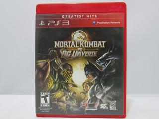 Mortal Kombat Vs Dc Universe - Ps3 ¡fisico-usado!