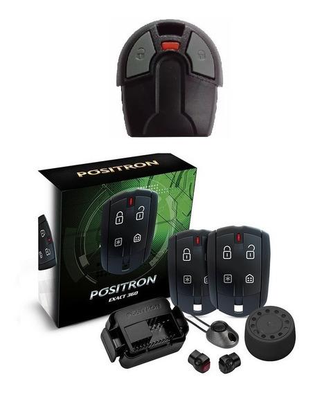 Alarme Positron Ex360 Exact Universal + Controle Chave Fiat