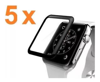 05 Unids Película 3d Antichoque Watch 38 A 4mm Preço Atacado