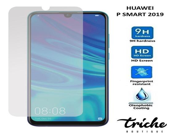 Cristal Templado Mica Contra Golpes Huawei P Smart 2019
