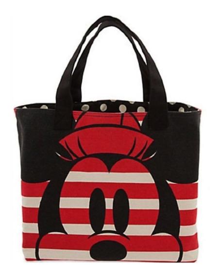 Bolsa Feminina Mickey E Minnie Listras 100% Importada Disney