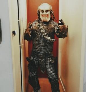 Disfraz Original Depredador Predator Halloween Adulto