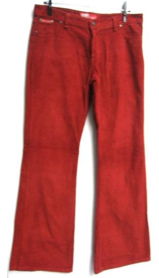 Pantalon Oxford Hombre T32 Corderoy Rojo (ana.mar)