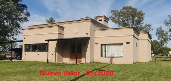 Casa Quinta Estilo Campo De 320m2 (231m2cub) Club El Moro
