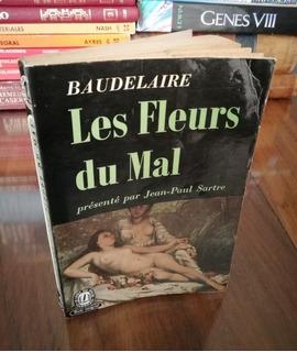 Les Fleurs Du Mal - Baudelaire - Prefacio Sartré - Francés