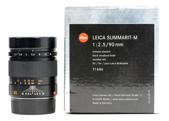 Objetiva Leica M Summarit 90mm 2.5 Novinha