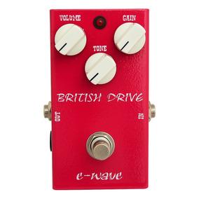 Pedal Amw Wave British Drive . Guitarra Baixo Violão . Loja