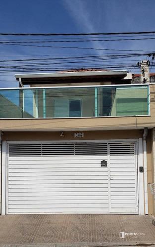 Casa Com 3 Dormitórios À Venda, 198 M² Por R$ 450.000,00 - Jardim Vista Alegre - Embu Das Artes/sp - Ca0522