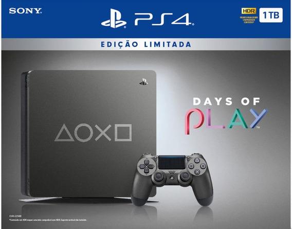 Console Playstation 4 - 1 Tb - Edição Limitada Days Of Pla