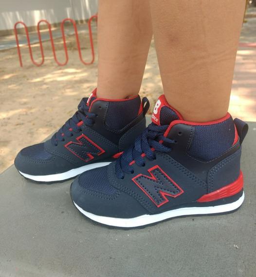 Tenis Bota Zapatillas Kids Nuevo Modelo Estilo