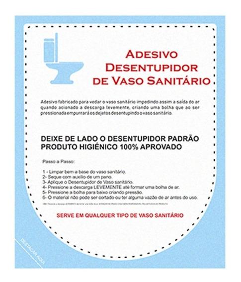 Adesivo Desentupir Vaso Sanitário 01 Unidade