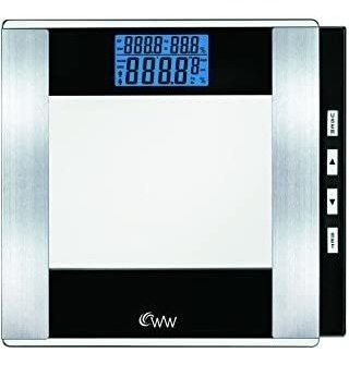 Ww Scales By Conair Body Analysis Glass Bathroom Scale - Mea