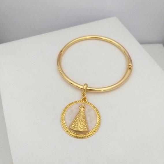 Pulseira Bracelete Pingente Nossa Senhora Aparecida Sigvara