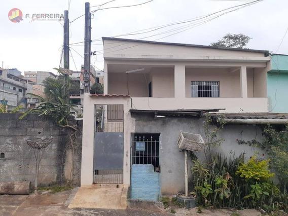 Casa Com 2 Dormitórios Para Alugar Por R$ 900,00/mês - Jardim Santa Rita - Embu Das Artes/sp - Ca0269