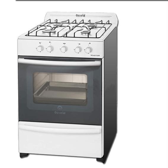 Cocina Multigas Master Blanca 56 Cm Modelo Nuevo Cuotas