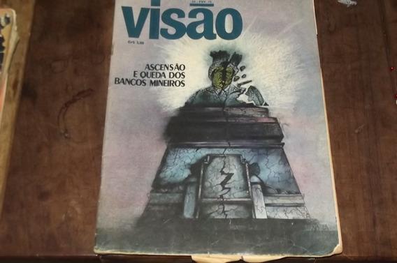 Revista Visão Fevereiro 1972 Bancos Mineiros