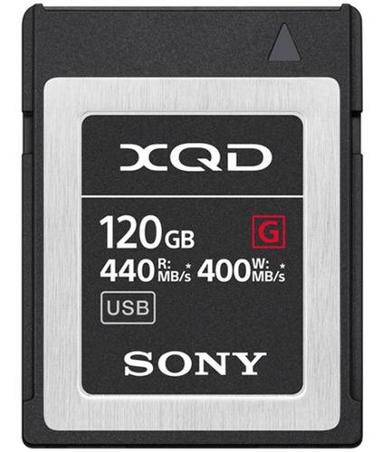 Cartão De Memoria Xqd Sony 120gb Serie G 440mbs