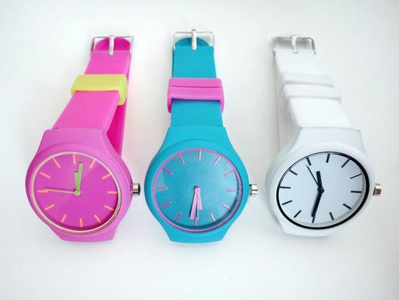 Relógios Com Pulseira De Silicone