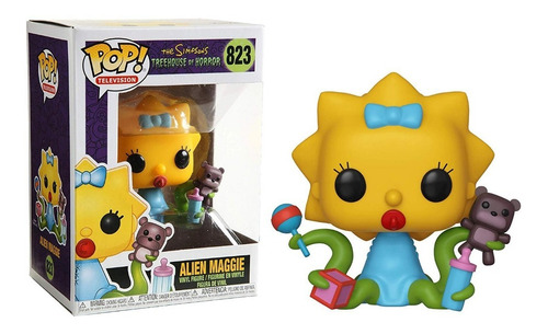 Funko Pop Maggie Alien #823 Los Simpsons Horror Regalosleon