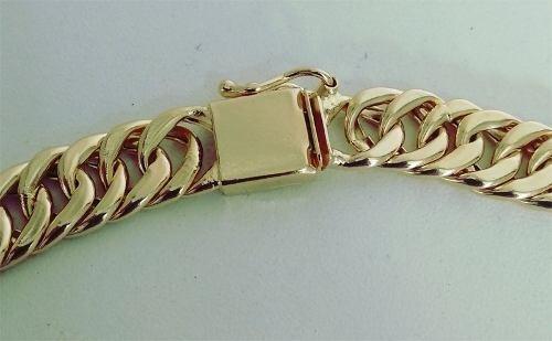Corrente Cordão Banhada Ouro 18k 11mm Com 60cm
