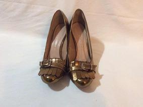 Sapato Feminino Cor Bronze - Salto Alto - Tam. 36 - Mariotta