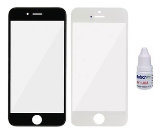 Kit Reparacion Vidrio Frontal + Uv iPhone 7 | 8 | 7 Plus
