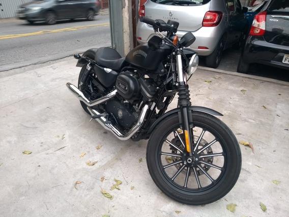 Hd Xl 883 N Iron 2015 Preta Baixo Km