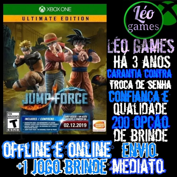 Jump Force Ultimate Edition Xbox One Mídia Digital + 1 Jogo