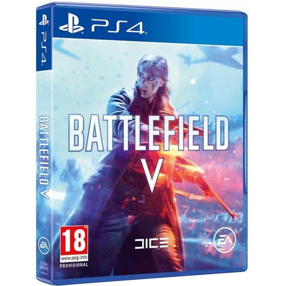 Game Battlefield 5 Bf V Ps4 Midia Fisica Novo Lacrado Barato