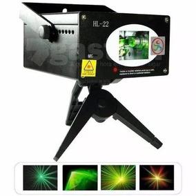 Laser Raio De Luz Verde E Vermelho Hl-22 System Profissional