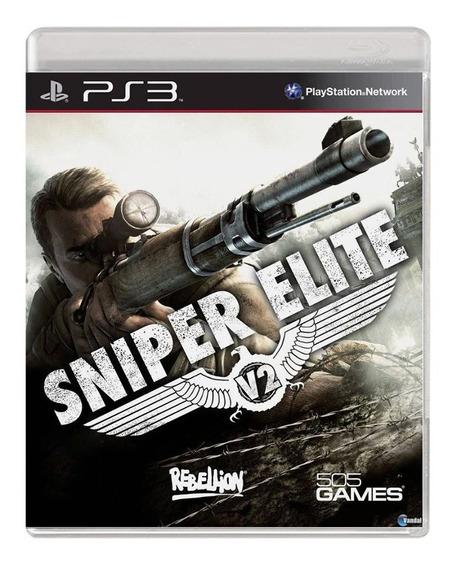 Sniper Elite V2 - Ps3 - Usado - Original - Mídia Física