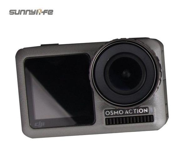 Pelicula Vidro Tela De Lcd-lente-visor Frontal - Osmo Action