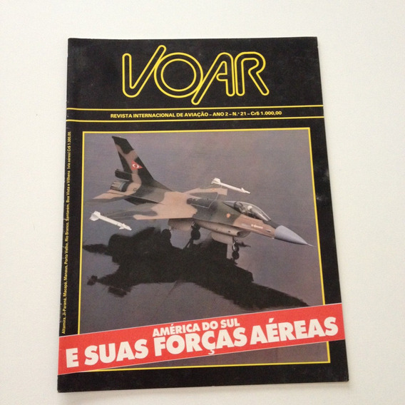Revista Internacional De Aviação Voar América Do Sul F88
