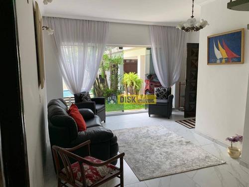 Sobrado Com 4 Dormitórios À Venda, 250 M² Por R$ 990.000,00 - Jardim Fênix - São Bernardo Do Campo/sp - So0673