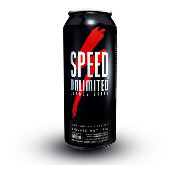 Speed Unlimited Energizante Lata X 500 Ml.