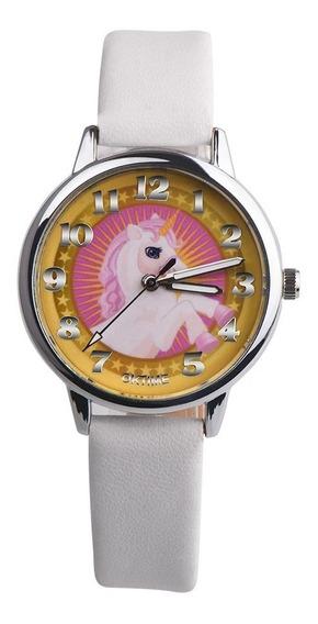 Reloj Pulcera Unicornio Moda Dama Y Niña Colores