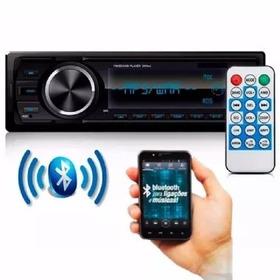 Rádio Toca Mp3 Com Bluetooth Fm Carro Mp3 Automotivo Usb Sd