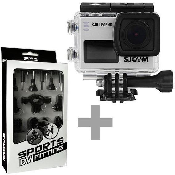 Câmera Sjcam Sj6 Legend 16mp Ultra Hd + Sport Kit