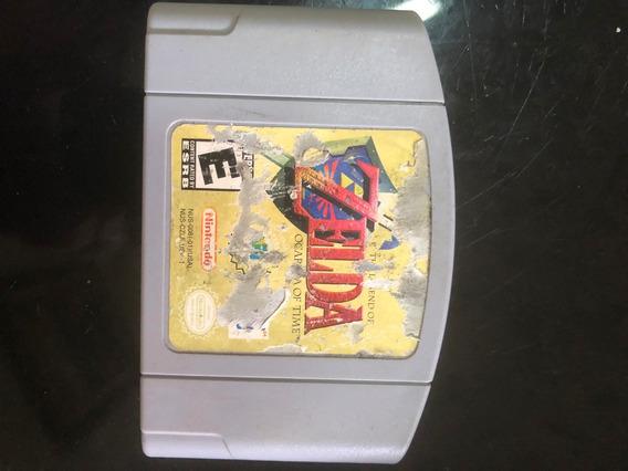 Zelda Ocarina Of Time Nintendo 64 Original Americano!!