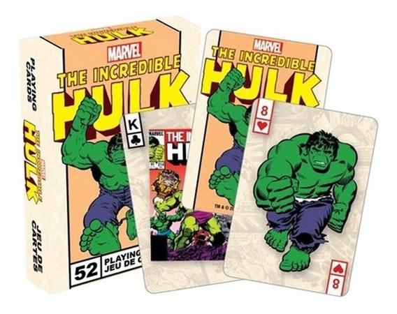 Baralho Do Hulk Aguarius Original Oficial Marvel