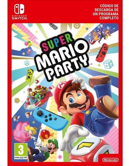 Super Mario Party - Nintendo Switch Código Eshop Sem Juros