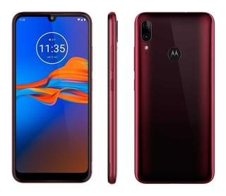Smartphone Motorola Moto E6 Plus 64gb Rubi